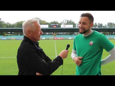 Wideo: Eryk Sobków po meczu z Pogonią Siedlce