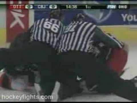 Jody Shelley vs. Brian McGrattan