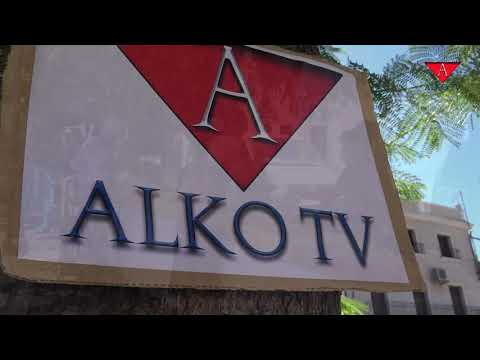 Caseta de alko tv en el tradicional mercadillo de los miercoles 19 de agosto 2020