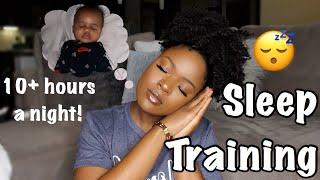 HOW I GOT MY BABY TO SLEEP THROUGH THE NIGHT | SLEEP TRAINING TIPS