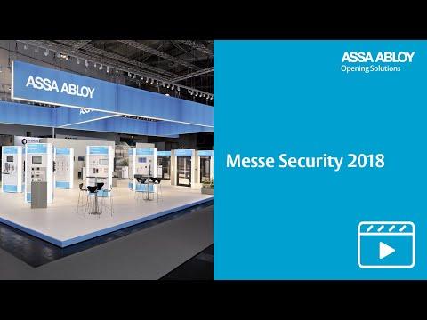 ASSA ABLOY auf der SECURITY 2018