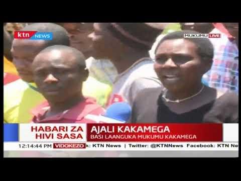 Ajali Kakamega: Basi laanguka Mukumu kakamega