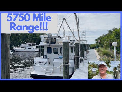 Custom A.E. Hingle Long Range STEEL Trawler video