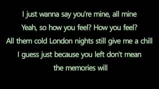 Conor Maynard & Anth : Don't Wanna Know - Lyrics