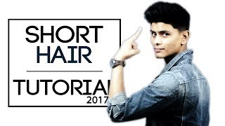 Easy Short Hairstyle For Indian Men | How To Style Short Hair | Mayank Bhattacharya