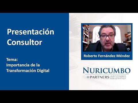 Diálogo con Roberto Fernández Méndez - Importancia de la Transformación Digital
