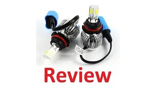 YUMSEEN (9007) LED Headlight Conversion Kit Review