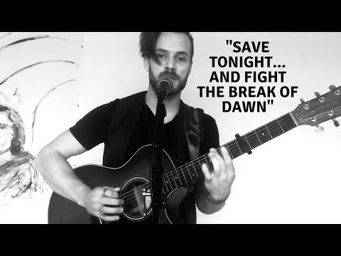 """Live Looping Acoustic Cover of Eagle Eye Cherry's """"Save Tonight"""" by Dylan Galvin."""