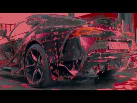 Toyota GR Supra Car-wash-porn#1 4K