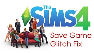 How to save your game in The Sims 4! (Xbox one & PS4 save game glitch fix)