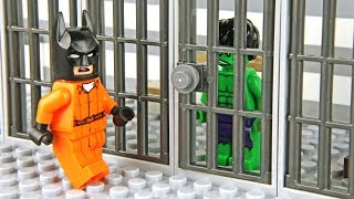 Lego Batman and Hulk Prison Break
