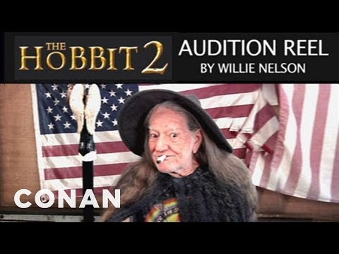 "Willie Nelson's ""The Hobbit 2"" Audition Reel – CONAN on TBS"