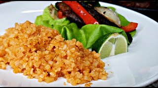 Mexican Cauliflower Rice Recipe | Low Carb Mexican Rice Recipe | HD Cooking Video