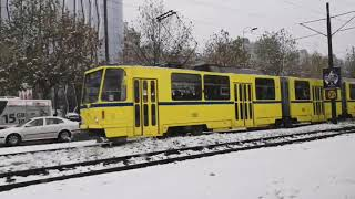 Snowfall#Way To Sarajevo International Airport#28Nov2018#Bosnia and Herzegovina#End of Trip😁😁