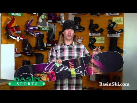 Salomon Wonder Women's Snowboard Review 2014
