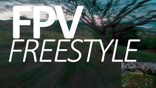 DRONE FPV - TREINO DE FREESTYLE