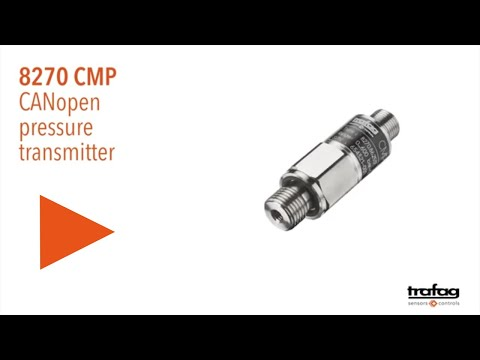 Trafag: CANopen pressure transmitter CMP 8270