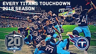 Every Tennessee Titans Touchdown 2018 Season