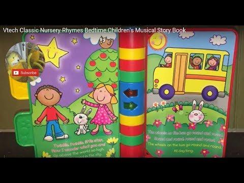 Vtech Classic Nursery Rhymes Bedtime Children's Musical Story Book