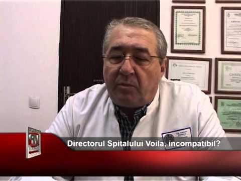 Directorul Spitalului Voila, incompatibil?