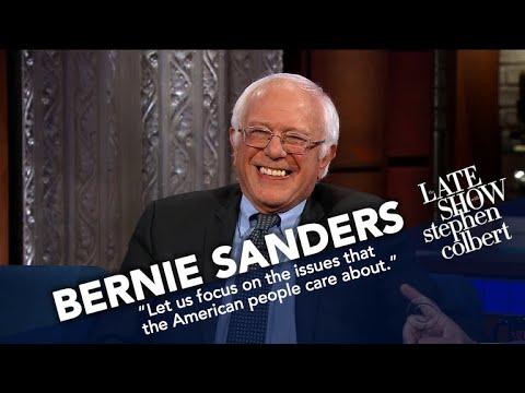 Bernie Sanders Tries To Say Something Nice About Trump