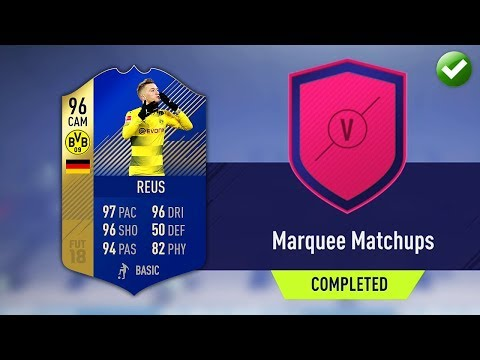 MARQUEE MATCHUPS SBC! (CHEAPEST METHOD) | FIFA 18 Ultimate Team