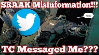 Gears of War 4 : SRAAK Misinformation : TC Messaged Me??? / Character Update