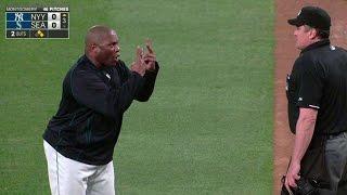 NYY@SEA: McClendon gets money's worth after ejection - Video Youtube