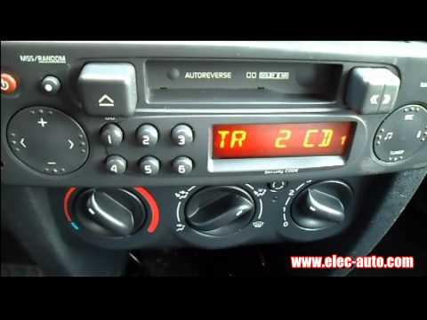 Lire des MP3 sur clé USB ou carte SD avec l'autoradio d'origine - Renault CLIO 2 TUNER LIST