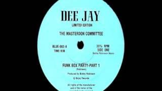 オススメ oldschool hiphop The Masterdon Committee