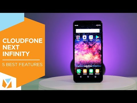 Cloudfone Next Infinity: 5 Best Features