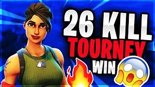 26K TOURNEY WIN! (INSANE PLAYS + A STREAMER!)