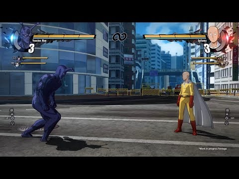 【PS4】一拳超人格鬥遊戲最新預告片出來啦!!!