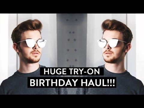 HUGE Birthday Try-on Haul (Dior, H&M, Zara & Topman)