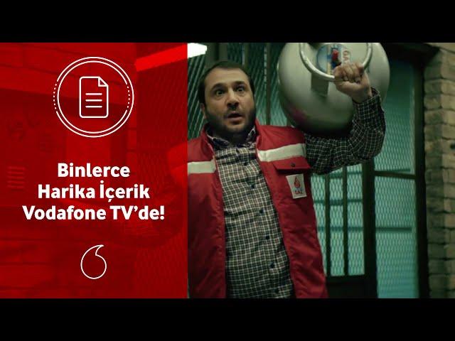 Binlerce harika içerik Vodafone TV'de!
