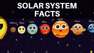 Facts about the Solar System | Lots of Planet Facts for Kids