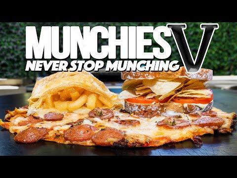 MUNCHIES V: NEVER STOP MUNCHING | SAM THE COOKING GUY