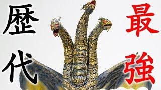 """ゴジラ歴代最強敵怪獣""""カイザーギドラ""""をレビュー!!FinalWars東宝大怪獣シリーズファイナルウォーズ"""