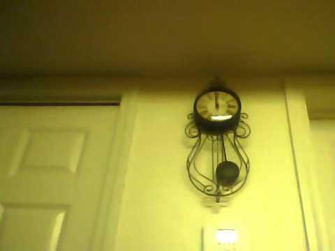 Wrought Iron Pendulum Wall Clock: Pendulum Wall Clocks ...
