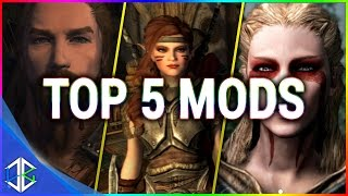 Top 5 Console Mods 9 - Cosmetic Mods - Skyrim Special Edition