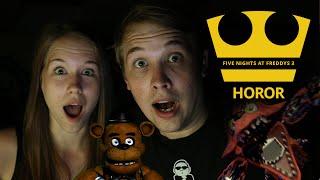 Jirka a Katka hrají Five Nights at Freddy´s 3 (Hororovka)