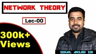 Lec-00 Introduction to Network Theory