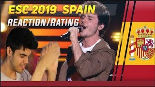 ESC 2019 Spain   Miki   La Venda (RatingReaction)