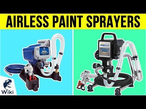 10 Best Airless Paint Sprayers 2019