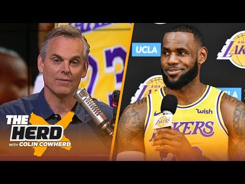 00f9d2365 Colin evaluates LeBron James  supporting cast ahead of the NBA 2018-19  season