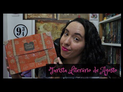 Unboxing Turista Literário de Agosto (2021) | Raíssa Baldoni