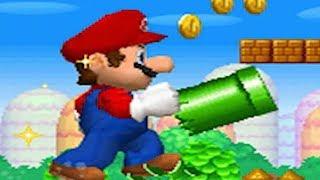 New Super Mario Bros. DS - 100% Full Game Walkthrough (All Star Coins & Secret Exits)