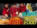 TRADITIONAL Korean STREET FOOD Market Tour in Busan South Korea