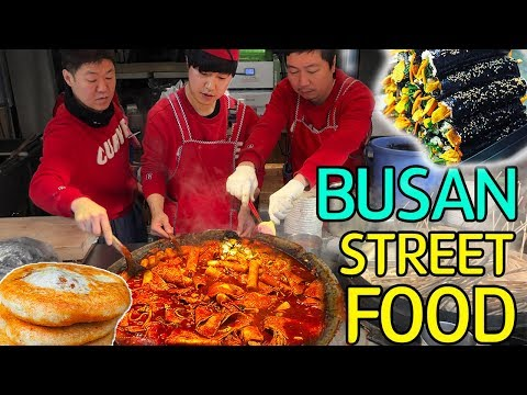 Download TRADITIONAL Korean STREET FOOD Market Tour in Busan South Korea HD Mp4 3GP Video and MP3