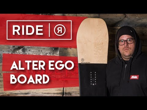 2018 Ride Alter Ego – Snowboard – Review – TheHouse.com